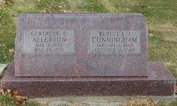 Rebecca Jane <i>Thornburgh</i> Cunningham