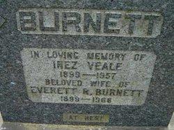 Inez <i>Veale</i> Burnett