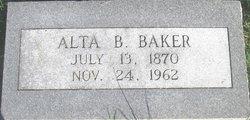 Alta Belle <i>Martin</i> Baker