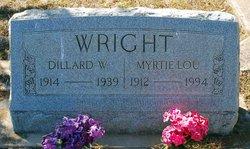 Dillard W Wright