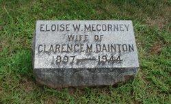 Eloise W <i>Mecorney</i> Dainton