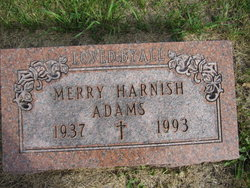 Merry <i>Harnish</i> Adams