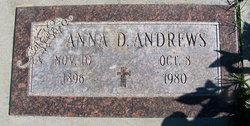 Anna D Andrews