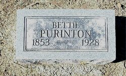 Elizabeth Bettie <i>Boots</i> Purinton