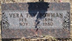 Vera Fay Bowman