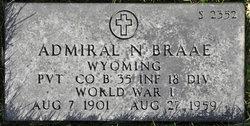 Pvt Admiral N Braae