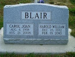 Carol Joan <i>Thomas</i> Blair
