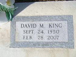 David M. Dave King