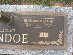 Billie June <i>RouLaine</i> Andoe