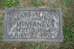 Mary Alice <i>Thomas</i> McNerney