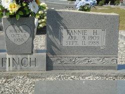 Fannie G <i>Hicks</i> Finch