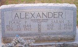 Isaac P Alexander