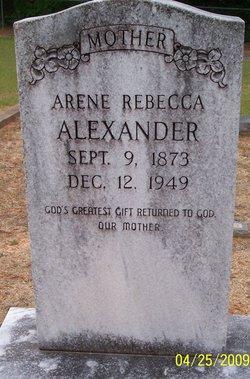 Arene Rebecca <i>Jacobs</i> Alexander