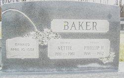 Fanny Jeanette Nettie <i>Nuttall</i> Baker