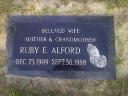 Ruby Edna <i>Polk</i> Alford