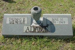Mae <i>Morrow</i> Adams