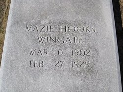 Mazie <i>Hooks</i> Wingate