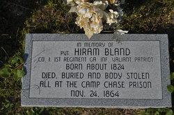 Pvt Hiram Bland
