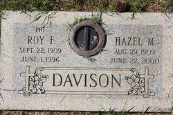 Roy F Pat Davison