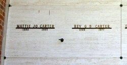 Rev G. B. Carter