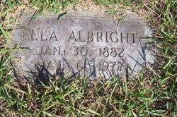 Ella L <i>Simmons</i> Albright