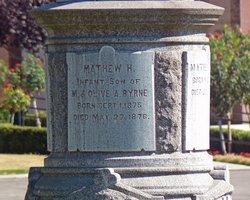 Mathew H Byrne