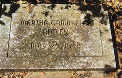Martha <i>Gambrell</i> Antley
