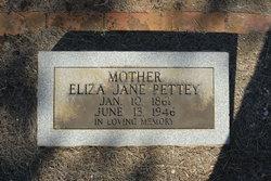 Eliza Jane <i>Welch</i> Pettey