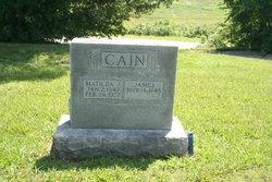 Matlida Jane <i>Hawkins</i> Cain