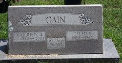 Marjorie <i>Binam</i> Cain