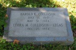 Harold K Collinson