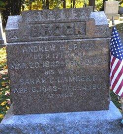 Sarah Goodyear <i>Lambert</i> Brock