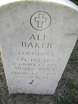 Alf Baker