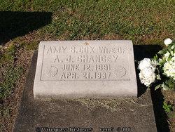 Amy B. <i>Cox</i> Chancey