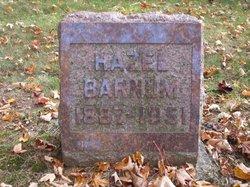Hazel Dean <i>Sias</i> Barnum