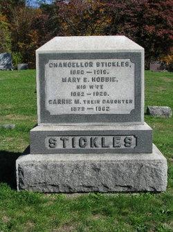 Mary E. <i>Hobbie</i> Stickles