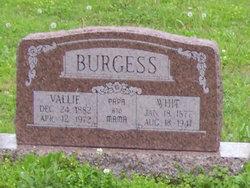 Vallie <i>Porter</i> Burgess