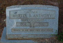Myrtis <i>Blount</i> Anthony