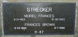 Muriel Frances Strecker