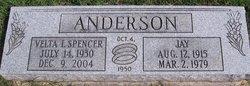 Velta L. <i>Spencer</i> Anderson