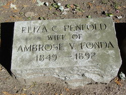 Eliza C. <i>Penfold</i> Fonda