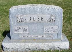 Louise Caroline <i>Johns</i> Rose