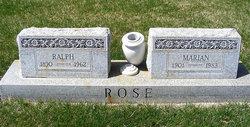 Ralph Zoel Rose