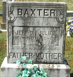 Julie L Baxter