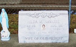 Hilda Mary <i>Navarre</i> Hebert