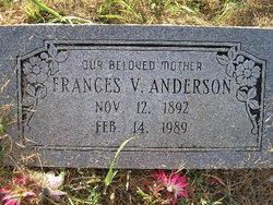 Minnie Frances <i>Vaughan</i> Anderson