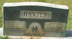 Mrs Mable <i>Charlton</i> Baxter