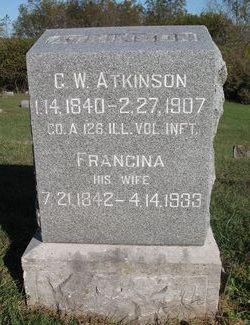 Francina Frances <i>Roberts</i> Atkinson