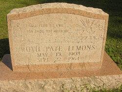 Ruth <i>Pate</i> Lemons