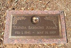 Glenda Kay <i>Sammons</i> Adams